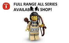 Lego minifigures tribal hunter series 1 (8683) unopened new factory sealed