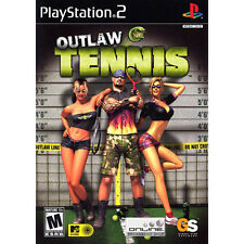 Outlaw Tennis COMPLETE Sony Playstation 2 PS2 Game