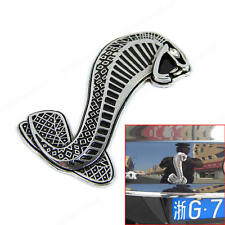 New Super Cool Snake Car Body 3D Sticker For Racing Decal Metal Stylish Style S
