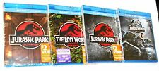 4-Movie Jurassic Park 1, 2, 3 & 4 - Blu-ray + Digital HD Collection - BRAND NEW