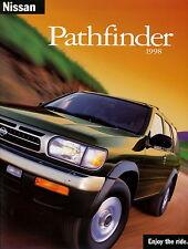 Prospekt GB Nissan Pathfinder 1998 Autoprospekt Geländewagen Auto Pkw brochure