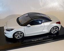 Peugeot RCZ weiss-Metallic, 1:18  NOREV