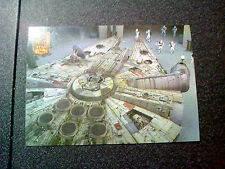 Star Wars Trilogy Card 119 Millenium Falcon