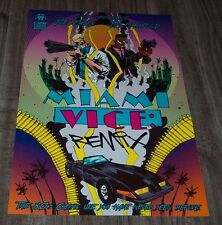 MIAMI VICE REMIX JIM MAHFOOD PROMO POSTER ART PRINT LION FORGE COMICS POP ART