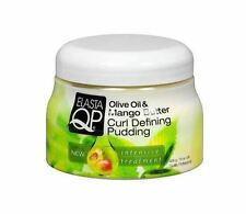 Elasta QP Olive Oil - Mango Butter Curl Defining Pudding, 15 oz