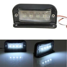 12/24V 4 LED LICENSE PLATE TAG LIGHT BOAT RV TRUCK TRAILER INTERIOR STEP LAMP