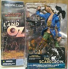 Twisted Land Of OZ The Scarecrow Figure New NICE! McFarlane