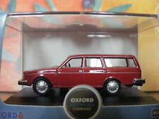 Volvo 245 GL  estate car in Red 1:76 Oxford Diecast New