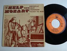 """GUY BOYER & son quatuor à cordes HELP MOZART (Lennon & McCartney) 7""""CBS EP 6268"""