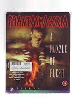 PHANTASMAGORIA : A PUZZLE OF FLESH - PC GAME - ORIGINAL RARE BIG BOX