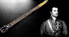 Hosenbandorden Strumpfband Replika Feldmarschall Wellington Garter gestickt