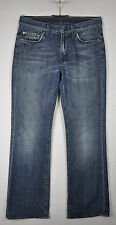 7 For All Mankind Jeans 29 Waist 32L Bootcut Distressed Designer Men