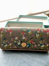 Samantha Thavasa Disney Donald And Daisy Duck  Japan Excl. Wallet  ~ Retired