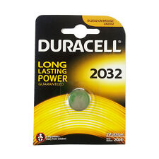 ★10 BATTERIE A BOTTONE DURACELL CR2032 LITIO 3 V PILE CR 2032★