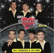 Grupo Corazon Colombiano Del Corazon A La Luna CD No plastic cover