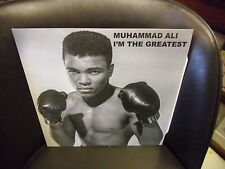Muhammad Ali I'm The Greatest [Boxing] LP NEW CLEAR Colored vinyl