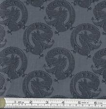 PATCHWORK/ CRAFT FABRIC FAT QTR LEWIS & IRENE MIN SHAN DESIGN - DRAGONS