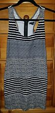 American Eagle outfitters, black and white striped dress XXS , new without tags