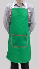 Vente En Gros Job Lot 10 brand new green Bib tabliers Cafe Travail cater chef