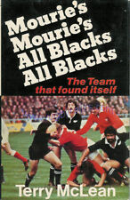 NZ ALL BLACKS GRAND SLAM TOUR of BRITISH ISLES 1978 RUGBY BOOK by TERRY McLEAN