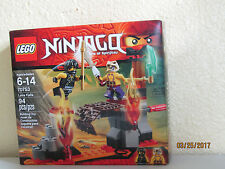 LEGO Ninjago 70753 Lava Falls New in Sealed Box 94 Pieces sib nib set complete
