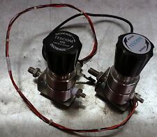 tescom 100 psi UHP regulators with built in pressure transducers