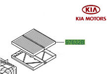 Genuine Kia Sorento 2007-2011 Pollen Filter 971333E270