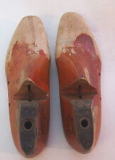VTG WOOD COBBLER SHOES ARNOLD WOODRIGHT LASTS FORMS 7 1/2 D  8 D