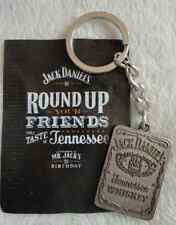 BOTTLE LABEL  JACK DANIELS KEYRING