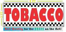 TOBACCO Banner Sign NEW Larger Size for Smoke Shop Convenience Store Market