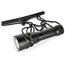 5000LM XM-L T6 LED Diving Scuba Flashlight Torch Underwater 100M Light lamp