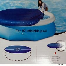 POOL COVER FOR INTEX AQUA DRICLAD 10' FOOT 305cm INFLATABLE POOL
