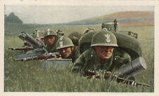 N°6 Soldiers Polish Poland Machine Gun World War Germany WWI 30s CHROMO