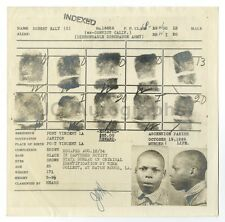 Wanted Notice - Robert Early/Escaped Convict - Baton Rouge, LA - 1926