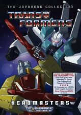 Transformers: Headmasters - The Japanese Collection [4  (2011, REGION 1 DVD New)
