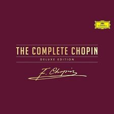 THE COMPLETE CHOPIN DELUXE EDITION - ARGERICH/BLECHACZ/POLLINI/+  20 CD+DVD NEU