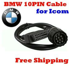 OBD2 For BMW 10 Pin ICOM D Cable ICOM-D Motorcycles Motobikes Diagnostic