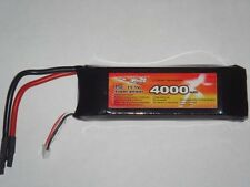 BATTERIA LIPO 4000 mAh 11.1V BURST 25C 3S CELLE RC AUTO BARCHE BATTERY HIMOTO