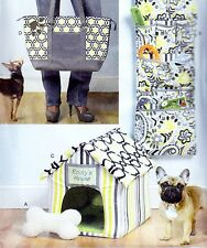 Butterick 5867 Sewing Pattern to MAKE Dog or Cat Toy, House Bed, Mat & Tote Bag