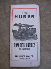 Huber Traction Engines Pocket ledger Note book Road Roller Tractor