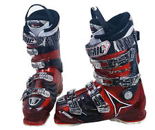 Atomic Hawx 90 Ski Boots Mondo 28 Mens 10 Red/Black/White - USED