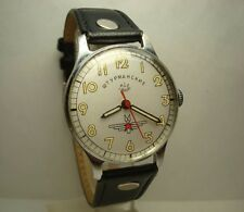 Poljot Shturmanskie Gagarin wrist watch Vintage 1956 USSR RARE Serviced & oiled
