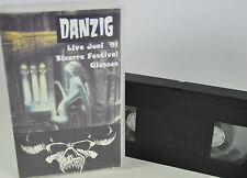 Danzig Live Juni 1991 VHS VIDEO ULTRA RAR 90er Festival Metal 07-D-VC