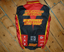 "MASSI  Racing Club LARGE Cycling Shirt  Vest Velo""ROCKHARD RACING"" black ARMLESS"