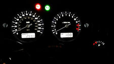WHITE HONDA CBF600 05-13 led dash clock conversion kit lightenUPgrade