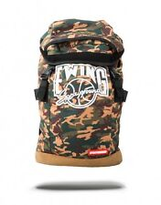 SPRAYGROUND NBA PATRICK EWING NY KNICKS CAMO TOP LOADER  BACKPACK BASKETBALL
