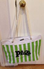 Plaza Hotel & Casino Canvas Bag W/ Rope Handles NEW