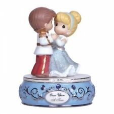 Precious Moments Disney Princess Cinderella & Prince Musical Figurine NIB 123102
