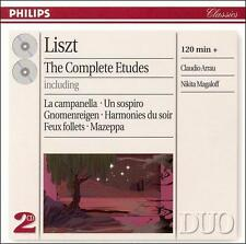 Liszt: The Complete Etudes (CD, Oct-1997, 2 Discs, Philips)