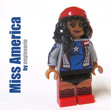 LEGO Custom - Miss America Chavez - Marvel Superheroes spiderman ironman captain